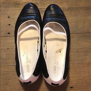 Louis Vuitton ballet shoes